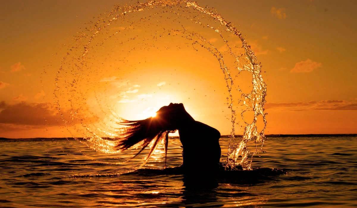 Область под глазами - знак Воды