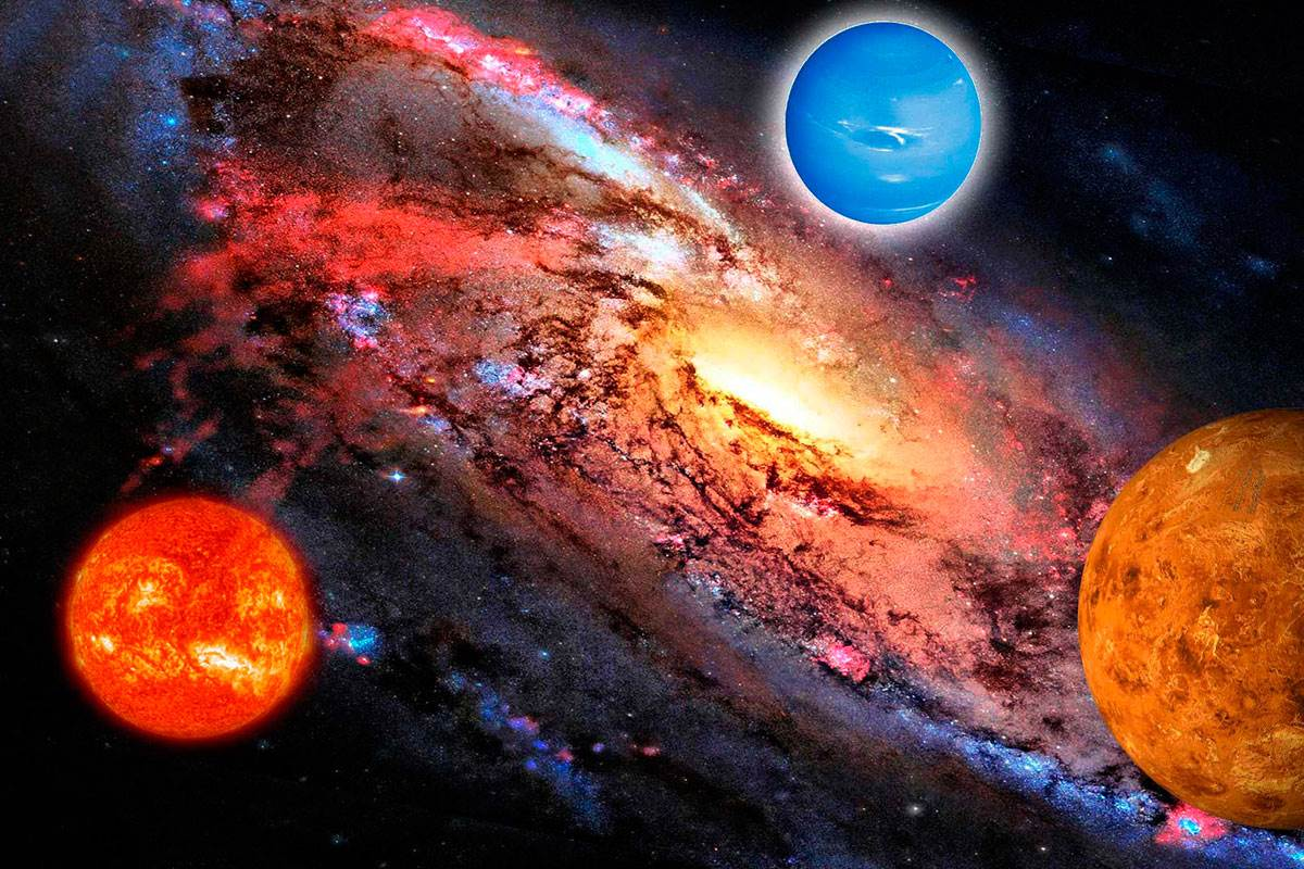 Аспекты Урана-Нептуна-Плутона