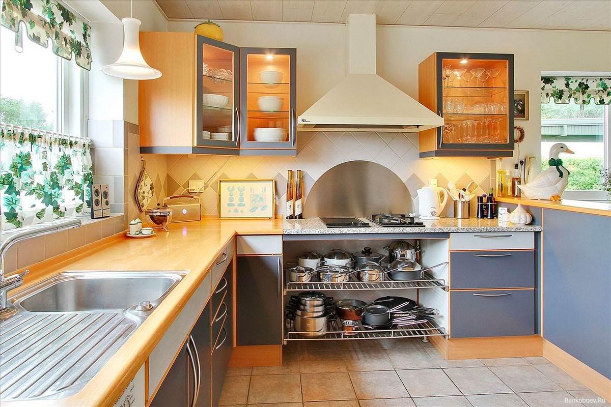 Дизайн кухни в частном доме: 50 фото самых удачных интерьеров 59